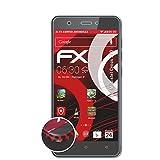 atFolix Schutzfolie kompatibel mit Mobistel Cynus F10 Folie, entspiegelnde & Flexible FX Bildschirmschutzfolie (3X)
