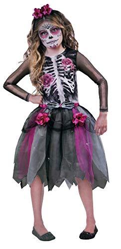 Brandsseller Mädchen Halloween Kostüm Geisterbraut Verkleidung Karneval Party Fasching M