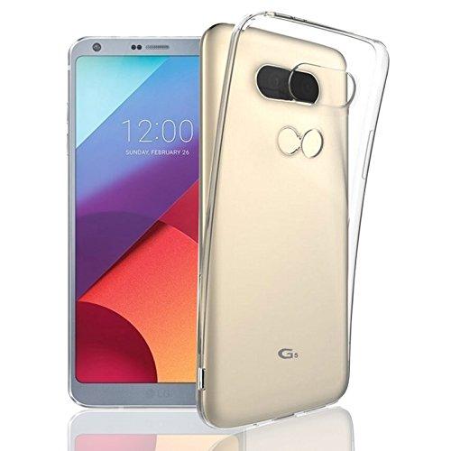 Eximmobile Silikonhülle für LG K9 | Handyhülle für hinten | Schutzhülle aus hochwertigem TPU | Handytasche mit gutem Schutz | Cover Hülle in transparent | Handy Tasche Silikoncase Etui