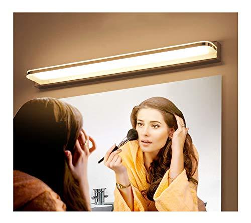 Badkamer Led Wandlamp, Gemakkelijk Acryl Spiegel Koplampen, Geschikt Voor Diverse Platte Spiegels, Badkamer, Nachtkastje