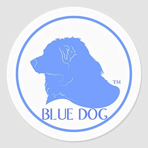 Blue Dog Democrat Sticker - Sticker Graphic - Auto, Wall, Laptop, Cell, Truck Sticker for Windows, Cars, Trucks