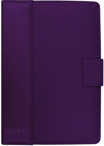 Port Designs Phoenix IV Universal Tablet Purple Case for 10 inch Tablets - Google Nexus/BlackBerry /iPad/Kindle Fire/Kindle Fire HD/Samsung Tablets