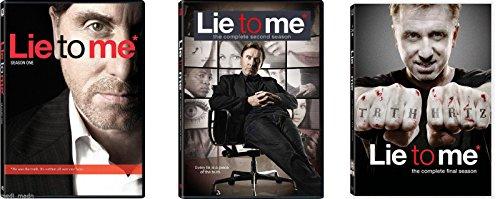Lie to Me Complete Series Seasons 1-3
