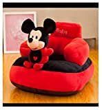Homescape Baby Soft Plush Cushion Baby Sofa Seat Or Rocking Chair for Kids