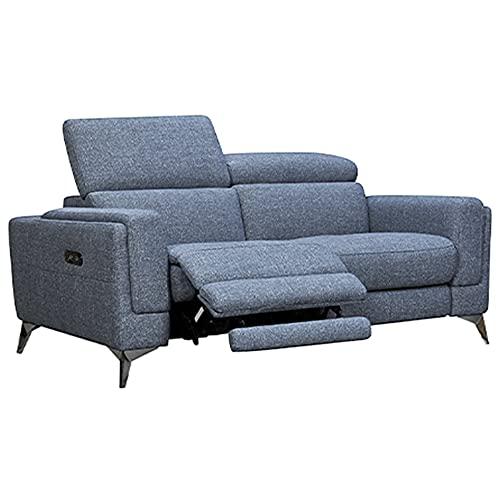 Meubletmoi - Sofá de 2 plazas, relaxación motorizada, estr