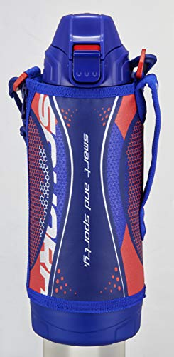 タイガー 水筒 800ml サハラ ステンレスボトル スポーツ 直飲み コップ付 2WAY ブルー MBO-H080A