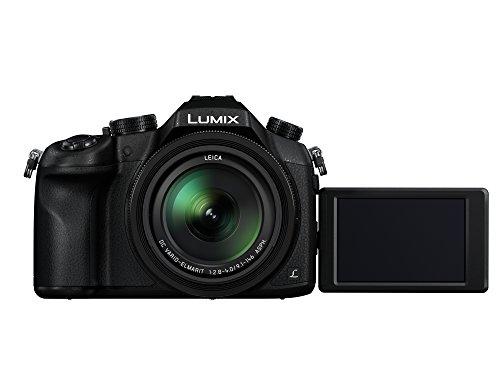 Panasonic LUMIX DMC-FZ1000G9 Premium-Bridgekamera (20,1 Megapixel, 16x Opt. Zoom, Opt. Bildstabilisator, Leica DC Vario-ELMARIT Objektiv, 4K Video) schwarz & Amazon Basics UV-Sperrfilter - 62mm