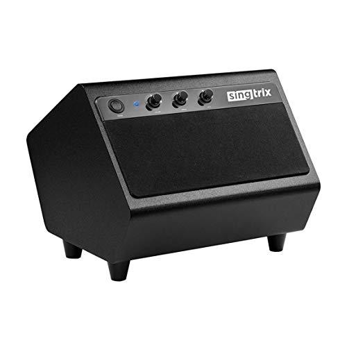 Singtrix Party Bundle Karaoke Machine Accessory – Powerful & Portable 40-Watt Speaker with Pro Stereo Sound, Built-in Subwoofer, and Customizable Controls (SGTXSPK1)