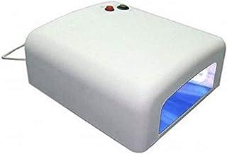 UV-lamp WIT 4 x 9W lichthardingsapparaat nails nail art UV-apparaat 4-buizen systeem nagelbuis