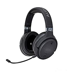Audeze Mobius Premium 3D Gaming Headset with Surround Sound, Head Tracking and Bluetooth. Over-Ear Gaming Headphones for PCs, PS4, and Others. V5 firmware.