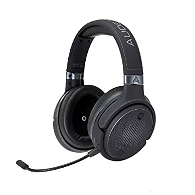 Audeze Mobius Premium 3D Gaming Headset with Surround Sound, Head Tracking and Bluetooth. Over-Ear Gaming Headphones for PCs, PS4, and Others. V5 firmware. from Audeze