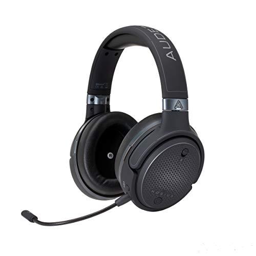 Cuffie da gioco 3D Audeze Mobius Premium con audio surround, tracciamento della testa e Bluetooth. Cuffie da gioco over-ear per PC, PS4 e altri. Firmware V5.
