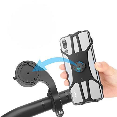 Tarnel supporto per cellulare da bicicletta rimovibile per moto regolabile a 360° supporto per cellulare per smartphone 11 Pro Max XS XR 8 Plus Samsung S20 S10 tutti i dispositivi da 4,0-6,5 pollici