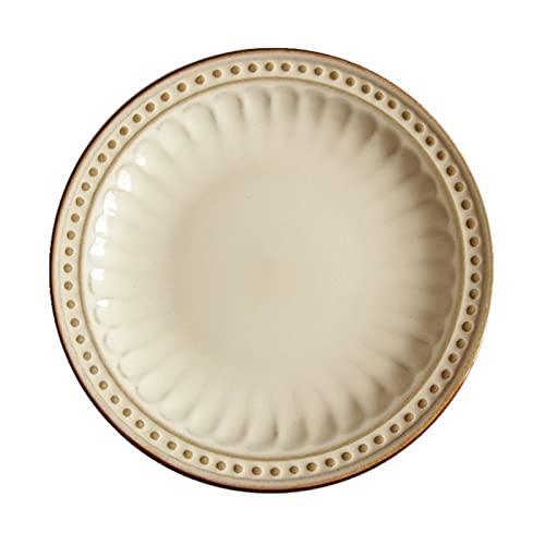 Cerámica cerámica country western en relieve esmalte horneado olla olla plato de sopa plato occidental filete de pescado 10 pulgadas de diámetro 27 cm