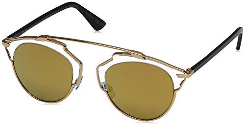 Dior Damen Diorsoreal K1 Sonnenbrille, Schwarz (Gold Crystal Black), 48