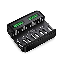 cheap Universal LCD Charger EBL-8 Bay AAAAACD Charger…