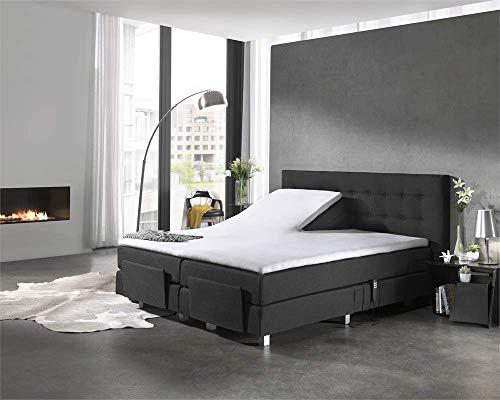 Hoeslaken Molton, stretchbaar matrasbeschermer voor elektrische boxsprings, anti-allergische, anti-huisstofmijt, Optimaal Slaapcomfort, 180 x 200/220 cm