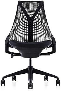 【正規品】 Herman Miller (ハーマンミラー) セイルチェア オフィスチェア アームレス ブラック 前傾無し BBキャスター 12年保証 AS1YA22NAN2BKBBBK9119