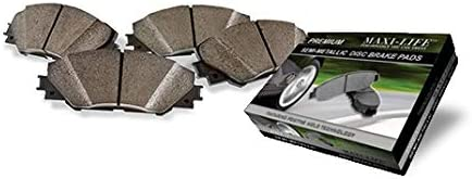 Rear Severe Duty BAXMBKE5284PM Max New product!! 67% OFF Pads Metallic