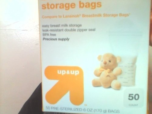 Best Deals! Up & Up Milk Storage Bags