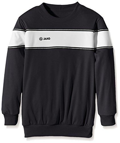 JAKO Sweatshirt Player, Multicolore-Nero/Bianco, 128