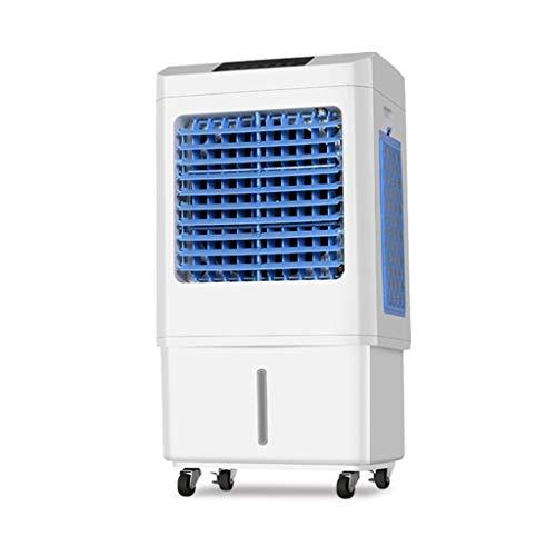 RJLI Climatizadores evaporativos Enfriador De Aire Evaporativo Portátil,Purificador De Aire para Viviendas Y Oficinas,Climatizador Ventilador Humidificador Enfriador, 3 Velocidades, 51 litros