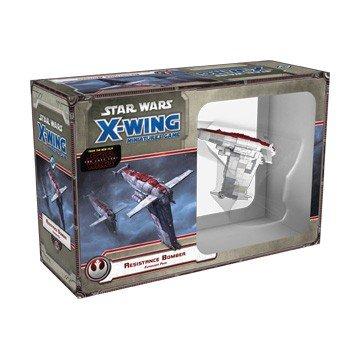 Fantasy Flight Games Star Wars X-Wing: Bombardero de la Resistencia-Español...