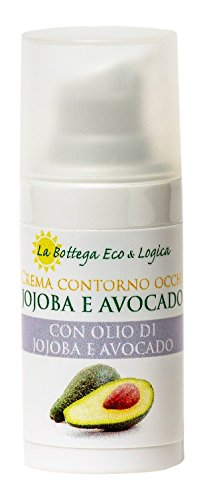 La Bottega Eco & Logica Crema Contorno Occhi Jojoba e Avocado, 20 grammi