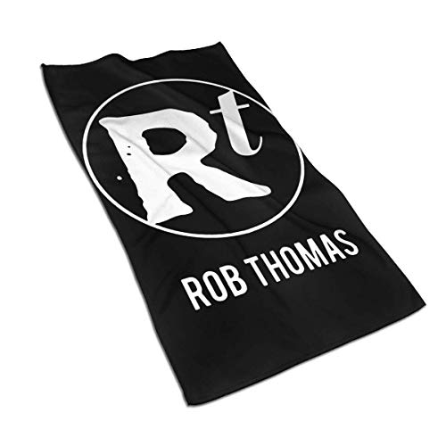 AOOEDM Towel Rob Thomas Toalla 27,5 x 15,7 Pulgadas