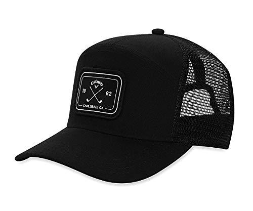 Callaway Golf 6 Panel Trucker Hat, Black