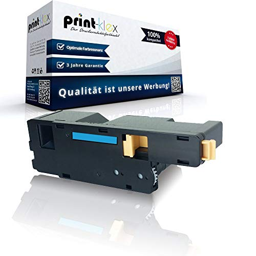 Compatible Toner Cartridge for Dell 1250c 1350cnw 1355cn 1355cnw C1760 nw C1765 nf C1765 nfw 59311021 FYFKF Cyan Blue - Office Pro Series