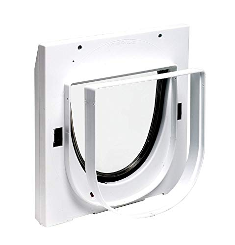 PetSafe Tunnel für Staywell Klassische Katzenklappe, Tunnel mit 1,8 cm Profil, Für Montage in Türen, Glas, PVC und Wände dicker als 5 cm, Mehrere Tunnelverlängerungen möglich, weiß