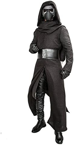 XCOSTUME Mens Deluxe Kylo Ren Costume Full Suit New Version V3 with Belt Gloves 2016 L product image