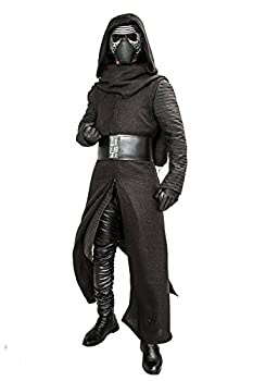 XCOSTUME Mens Deluxe Kylo Ren Costume Full Suit New Version V3 with Belt & Gloves 2016  XL