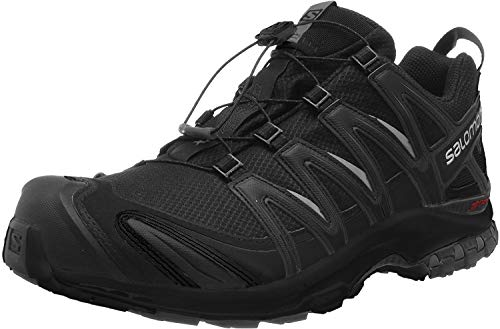 Salomon Men's Trail Running Shoes, XA PRO 3D GTX, Colour: Black (Black/Black/Black), Size: UK - Size 7