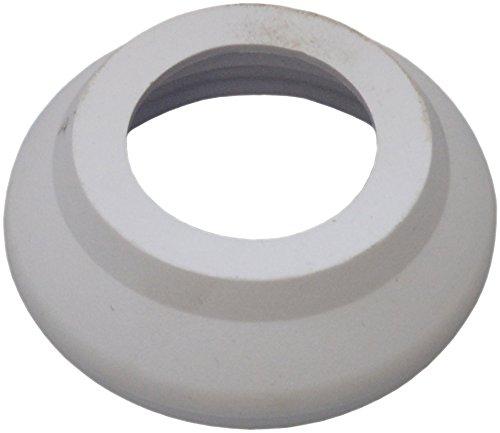 sanicomfort–Gomito 45mm, plastica, bianco, per connettore per SPK WC 1895060