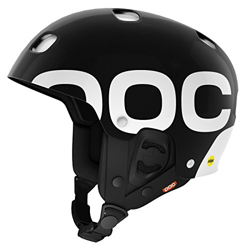 POC Receptor Backcountry MIPS Casco para adulto Invierno 15-16, Color Negro (Uranium Black), Talla S