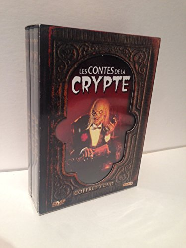 """Les contes de la crypte (1991-1992, TALES FROM THE CRYPT) Vol. I & II, 6-Disc, 2-""""Coffret"""" (Casket) Boxed Sets, PAL REGION 2 FRENCH-RELEASE DVDs (Requires a Code Free DVD Player to play)!!!"""