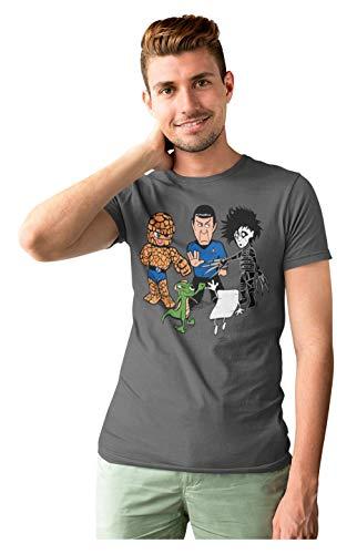 541-Camiseta Big Bang Theory - Piedra Papel Tijera (Samiel) L.