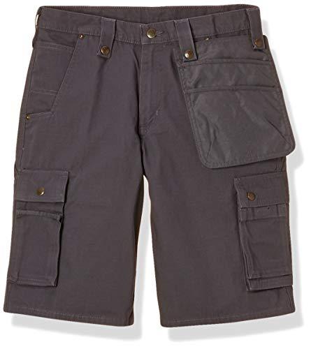 Carhartt Carhartt .102361.039.S528 Multi Pocket Ripstop Short, Gravel, W28
