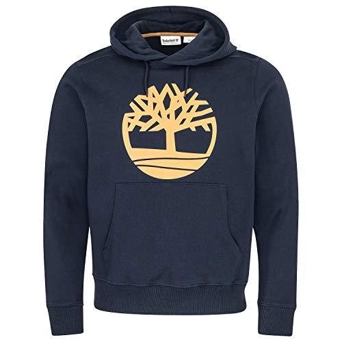 Timberland Herren Core Logo P/O Hoodie Kapuzenpullover 0A1ZKY Dark Sapphire XL