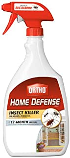 Ortho 0196410 Home Defense MAX Insect Killer Spray for Indoor and Home Perimeter, 24-Ounce (Ant, Roach, Spider, Stinkbug & Centipede Killer)