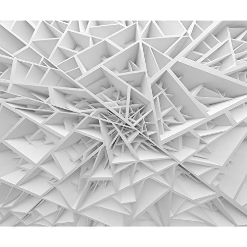 decomonkey Fototapete 3d Effekt 400x280 cm XXL Design Tapete Fototapeten Vlies Tapeten Vliestapete Wandtapete moderne Wand Schlafzimmer Wohnzimmer Modern Abstrakt