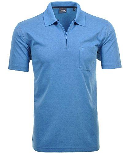 Ragman - Polo para hombre (talla XL), color azul