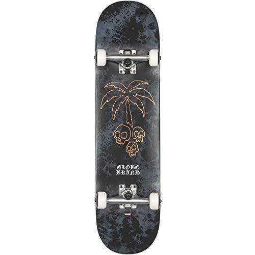Globe G1 Natives Skateboard, Unisex, Schwarz/Copper (Mehrfarbig), 8.0 Zoll