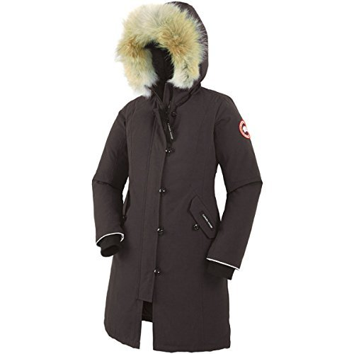 Canada Goose Girl's Brittania Parka, Black, Small by Canada Goose
