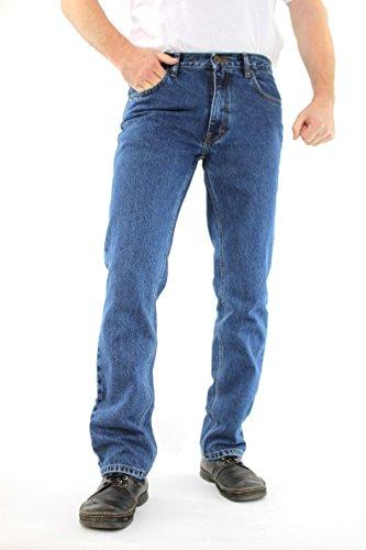 Oklahoma Jeans Stone/Blau Rocky R-140 (501 Schnitt) - (NA Stone-Blue) W34/L34