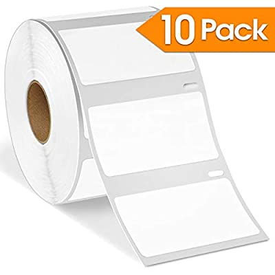"Spartan Industrial - DYMO-Compatible 30334 FBA Barcode UPC Labels 2-1/4"" X 1-1/4"" Replacement for DYMO 30334 Labels (10 Pack)"