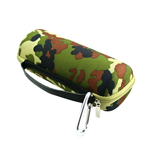Shan-S Storage Bag for JBL FLIP 5/4 /3 BT Speaker,Portable Waterproof Shockproof Dustproof EVA Hard Travel Replacement Camouflage Carrying Case