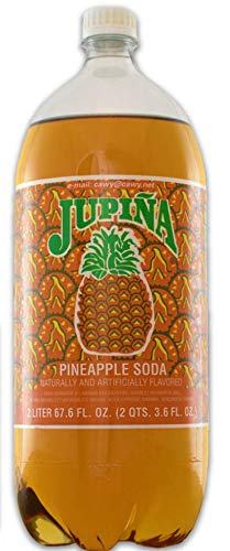 2 Jupina Pineapple Soda - 2 Liter Bottles (2 Pack)